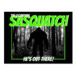 The Legendary Sasquatch Postcard