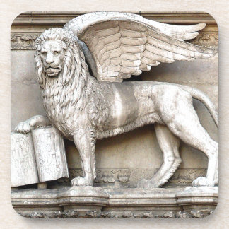 The Legendary Venetian Lion Drink Coaster