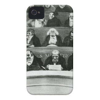 The Legislative Belly by Honore Daumier Case-Mate iPhone 4 Cases