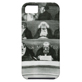 The Legislative Belly by Honore Daumier iPhone SE/5/5s Case