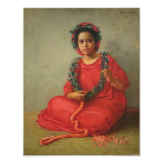 'The Lei Maker' - Theodore Wores Poster