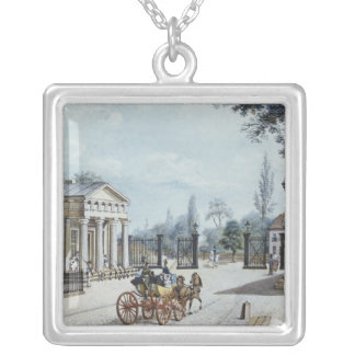 The Leipzig Gate, Berlin Silver Plated Necklace