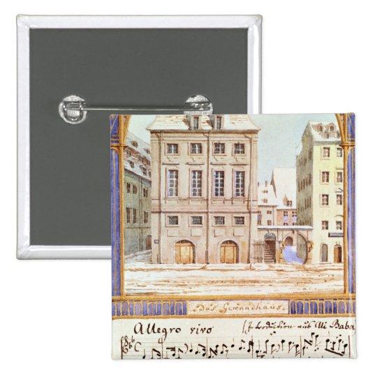 The Leipzig Gewandhaus Button