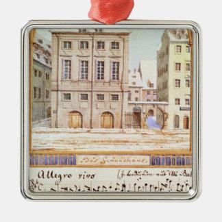 The Leipzig Gewandhaus Metal Ornament