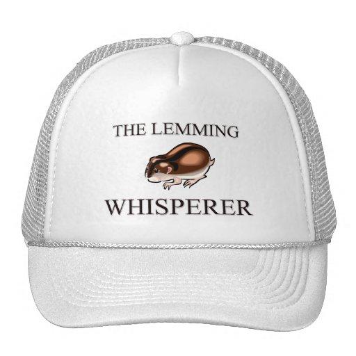 The Lemming Whisperer Hats