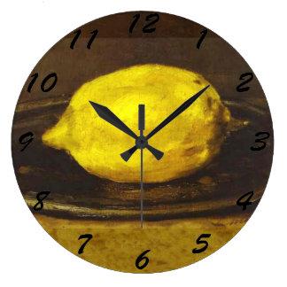 The Lemon - clocks in 3 sizes