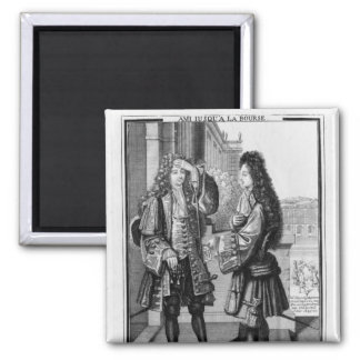The Lender and the Borrower 2 Inch Square Magnet