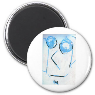 The Lenon 2 Inch Round Magnet