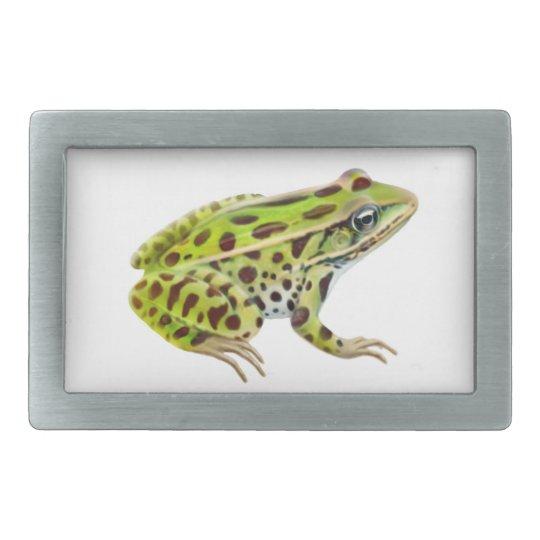 The Leopard Frog Belt Buckle