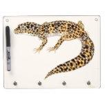 The Leopard Gecko Lizard Dry Erase Board