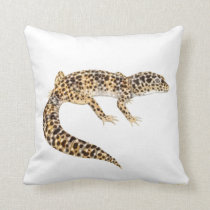 The Leopard Gecko Lizard Pillow