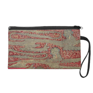 The Leopards of England 15th century tapestry Wristlet
