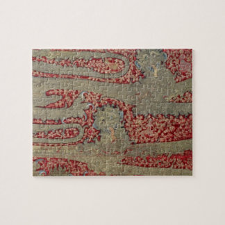 The Leopards of England, 15th century (tapestry) Jigsaw Puzzle
