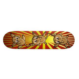 The Leopard's Pride Skateboard