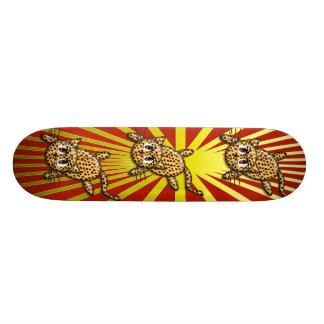 The Leopard's Pride Skateboard Deck