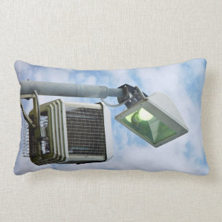 The Lesser Great Bug Zapper against sky Throw Pillows