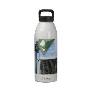 The Lesser Great Bug Zapper against sky Drinking Bottles