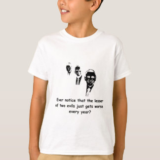 The Lesser Of Two Evils - Light T-Shirt