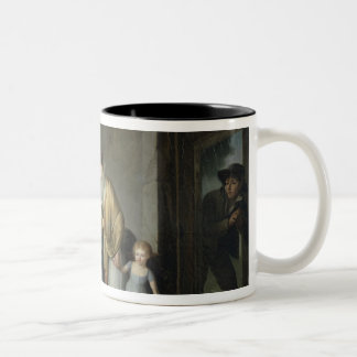 The Lesson in Charity Two-Tone Coffee Mug