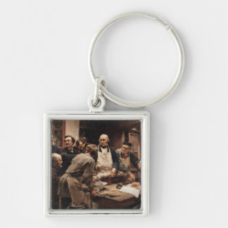 The Lesson of Claude Bernard Keychain