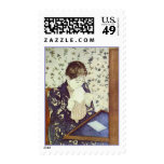 The Letter. 1890-1891, Mary Cassatt Postage Stamps