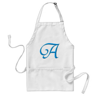 The letter A Adult Apron