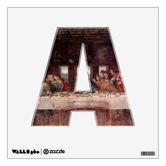 The Letter A - Alphabet Wall Decal - thelettera