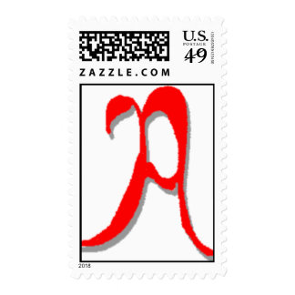 The Letter A Stamp