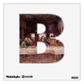 The Letter B - Alphabet Wall Decal - theletterb
