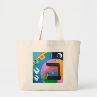 The letter Bet Canvas Bag