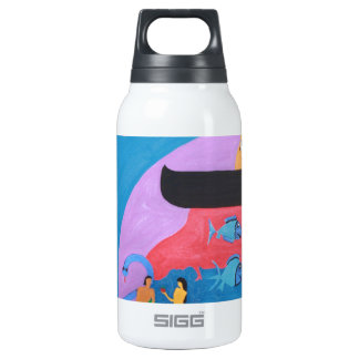 The letter Bet Insulated Water Bottle