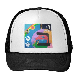 The letter Bet Trucker Hat