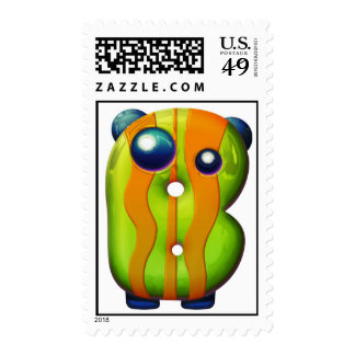 """The Letter """"Beta"""" Postage Stamp"""