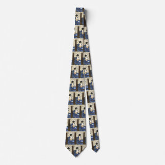 The Letter by Mary Cassatt, Vintage Impressionism Neck Tie
