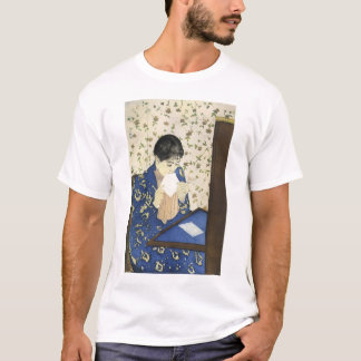 The Letter by Mary Cassatt, Vintage Impressionism T-Shirt