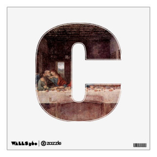 The Letter C - Alphabet Wall Decal - theletterc