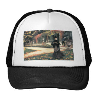 The letter came in handy by James Tissot Trucker Hat