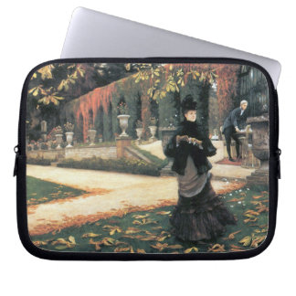 The letter came in handy by James Tissot Laptop Sleeves