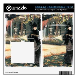 The letter came in handy by James Tissot Samsung Blackjack II Skin