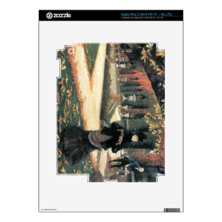 The letter came in handy by James Tissot Decal For iPad 3
