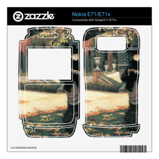 The letter came in handy by James Tissot Skins For The Nokia E71