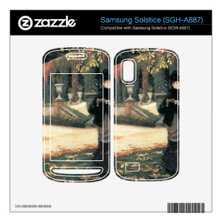 The letter came in handy by James Tissot Samsung Solstice Skins