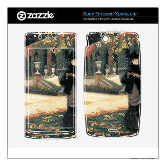 The letter came in handy by James Tissot Xperia Arc Skins