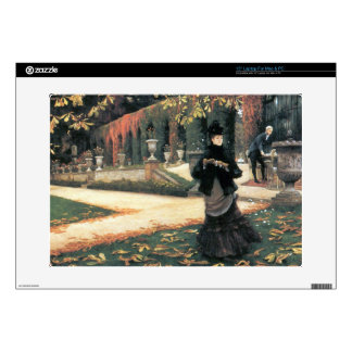 """The letter came in handy by James Tissot 15"""" Laptop Decal"""