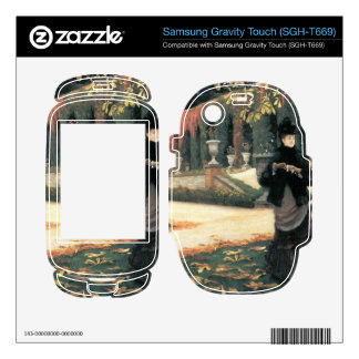 The letter came in handy by James Tissot Samsung Gravity Touch Skins