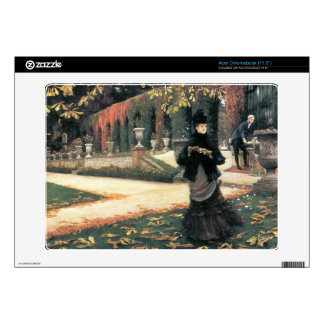 The letter came in handy by James Tissot Acer Chromebook Decal