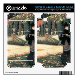 The letter came in handy by James Tissot Samsung Galaxy S 4G Decal