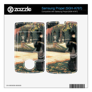 The letter came in handy by James Tissot Decal For Samsung Propel