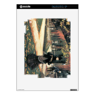 The letter came in handy by James Tissot Decal For iPad 2