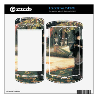 The letter came in handy by James Tissot LG Optimus 7 Decal